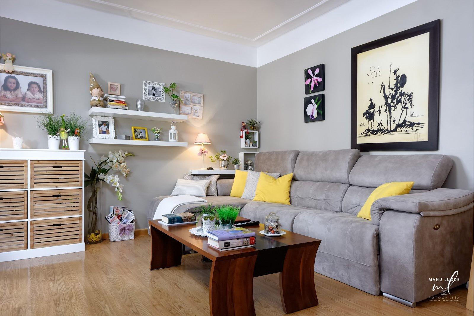 Zona de estar en apartamento