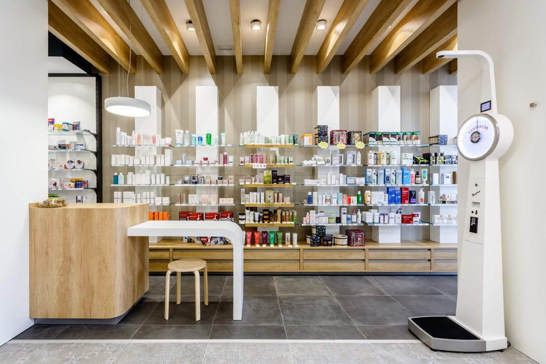 Detalle de farmacia en Vitoria-Gasteiz