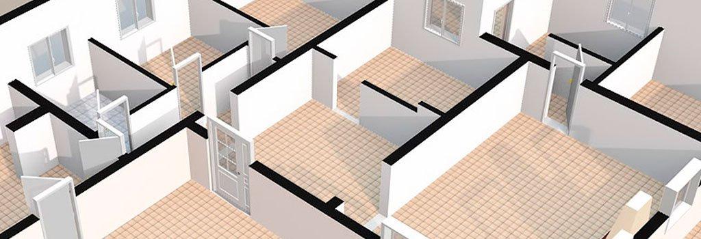 Conexión de los espacios en 3D
