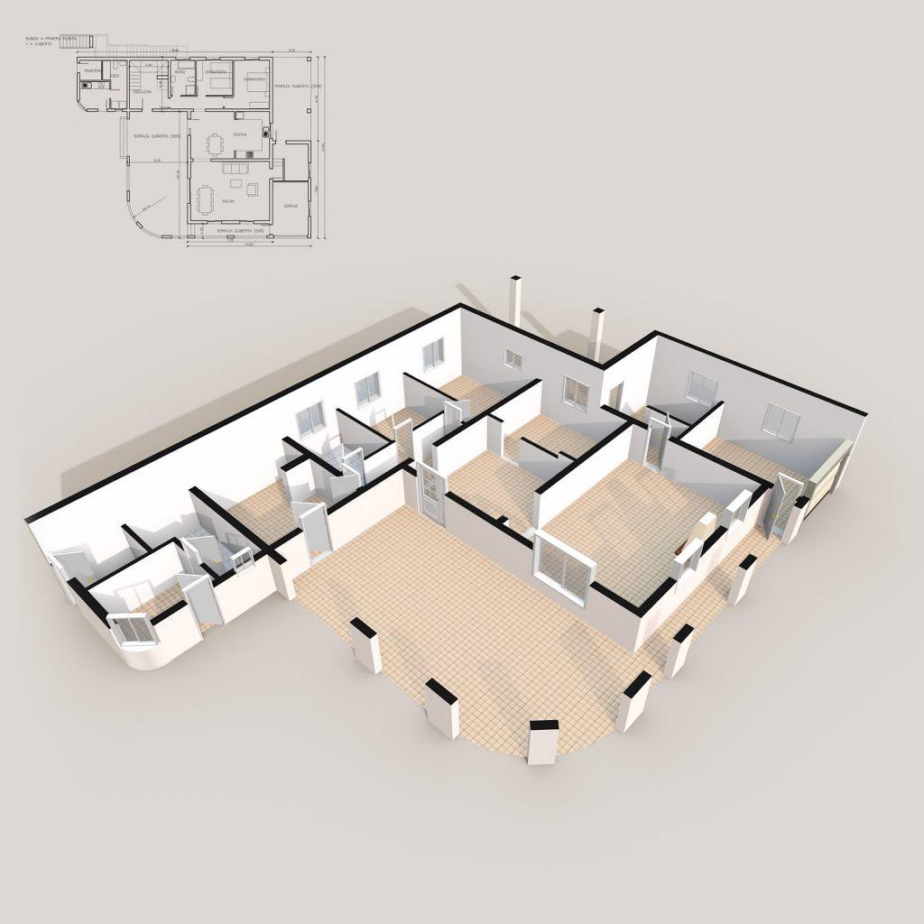 Plano 3D básico